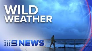 Antarctic blast brings damaging winds and rain to Australia's south-east