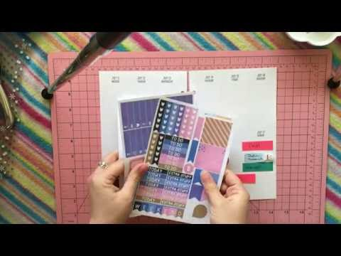 Erin Condren Life Planner Weekly Spread - April 27th to May 3rd