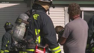 Dog rescued from Boise house fire