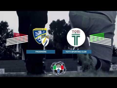 Frosinone VS Totti Sporting Club   Highlights