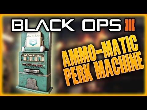 SECRET HIDDEN PERK MACHINE AMMO-MATIC, COMING TO BO3 MOD TOOLS, BLACK OPS 3 ZOMBIES
