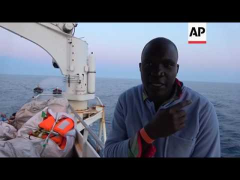 230 migrants rescued from boats off Libya coast