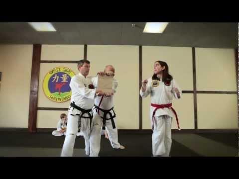 West Side Taekwondo class demonstration Nashville TN