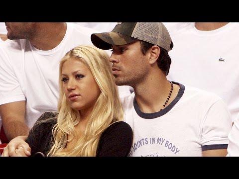 Enrique Iglesias confirmó en exclusiva que terminó su relación con Anna Kournikova