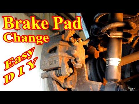Brake Pads Change Rear Mitsubishi Endeavor DIY