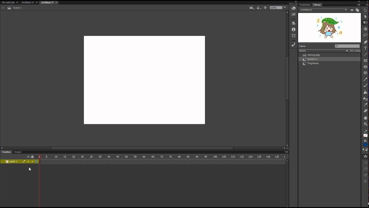 как сделать живую открытку во флеше с-х техники