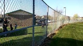Dutch Shepherd (riley) Jumping Over 8 Foot Fence Bitework