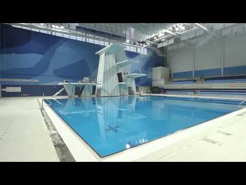 Pan Am Aquatics Centre at U of T Scarborough campus