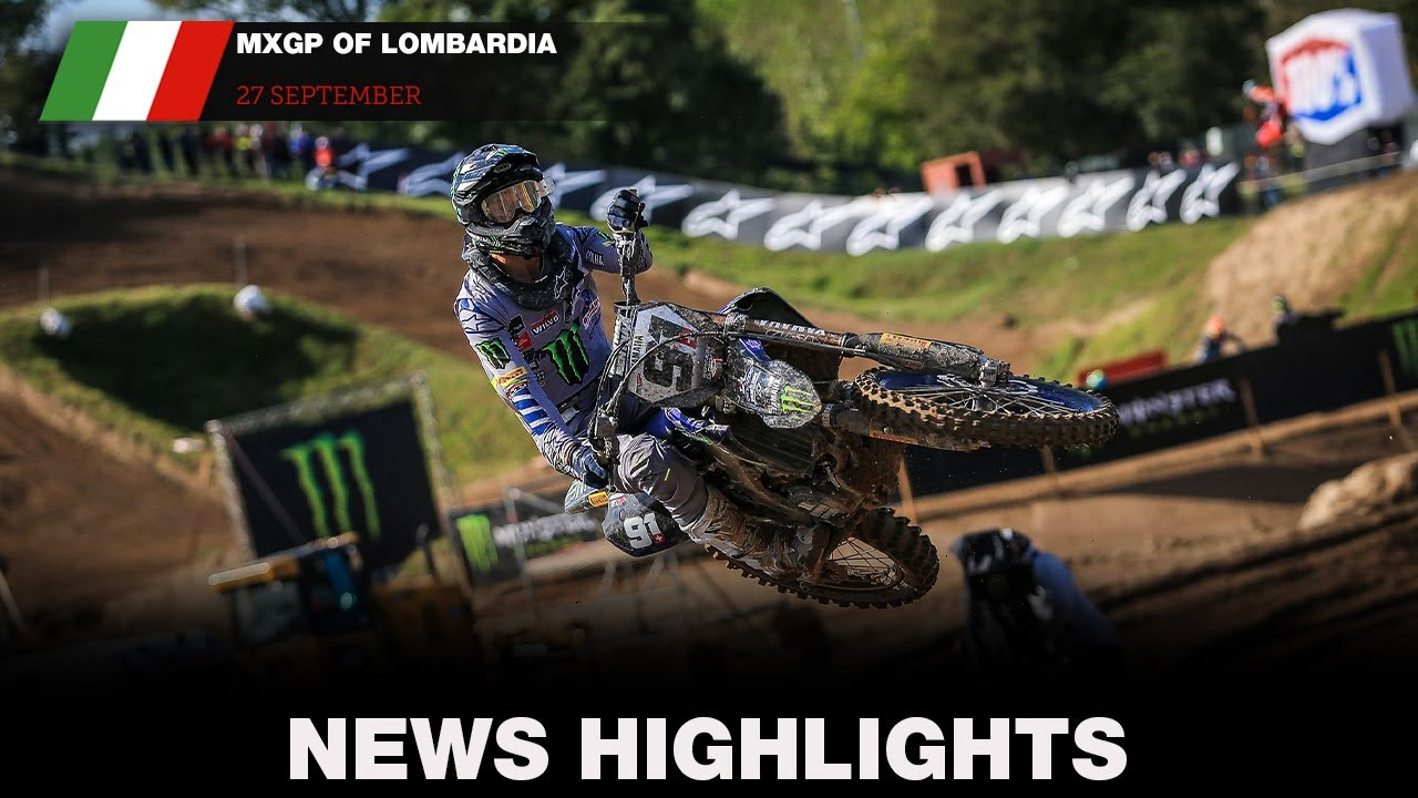 Moto News: MXGP Lombardia video highlights!
