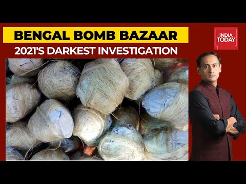 Bengal Bomb Bazaar: India Today Exposes Bengal's Crude Bomb Factories | Newstrack With Rahul Kanwal