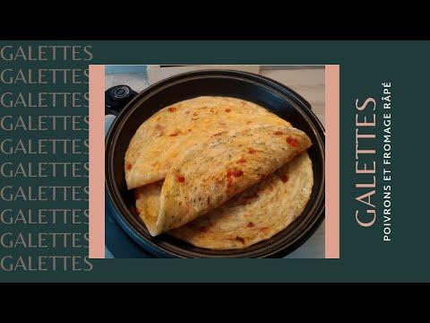 galettes-aux-poivrons-et-fromage-râpé-😋