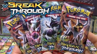 OPENING 4 EARLY POKEMON TCG BREAK THROUGH XY8 PACKS! | ULTRA RARE POKEMON CARDS!!
