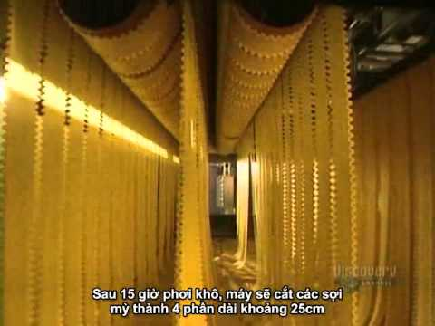 Mỳ Ý ngon tuyệt và quy trình sản xuất