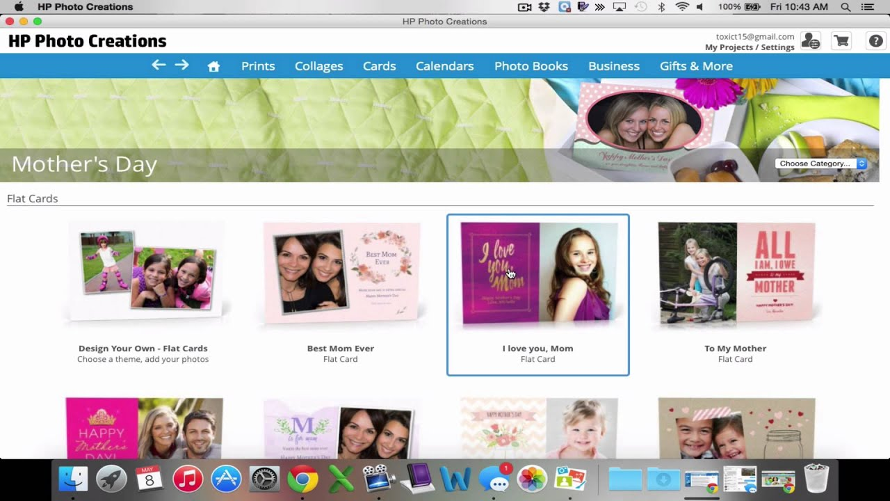 How to Navigate HP Photo Creations