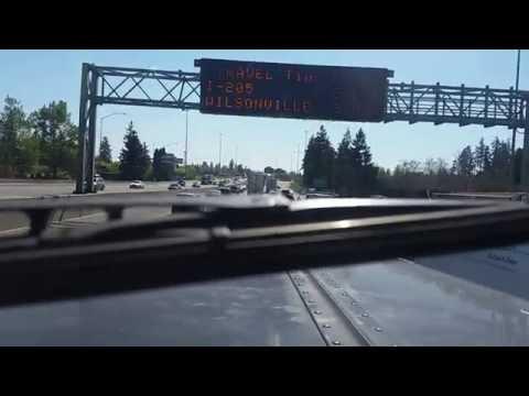 Portland, Oregon Trucking I-5 S.
