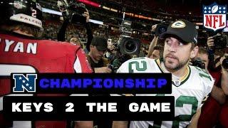 Atlanta Falcons vs Green Bay Packers Preview   NFC Championship 2017