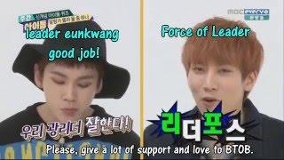 BTOB Eunkwang and Ilhoon Weekly idol ENG SUB ep 170 P2 winner DBSK EXO xiumin apink bomi 일훈 보미 비투비