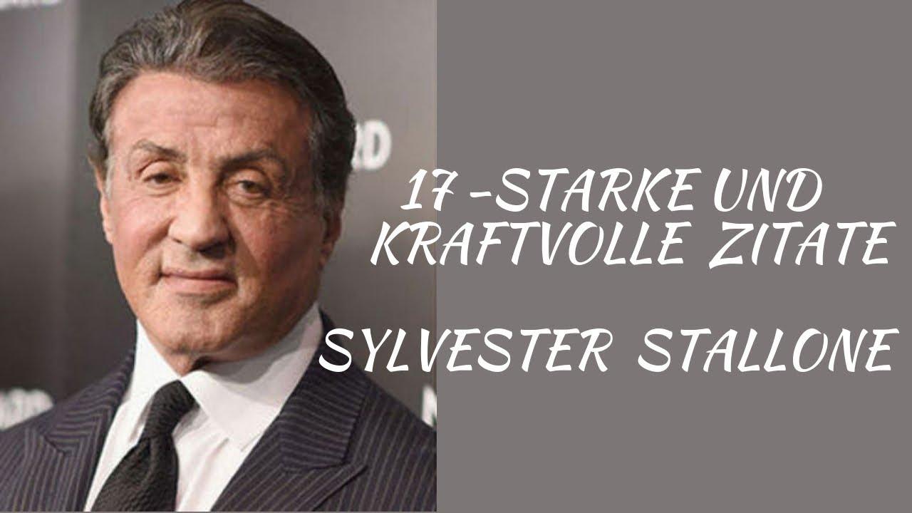 Sylvester Stallone Inspirierende Und Starke Zitate