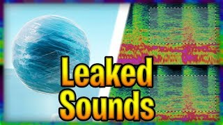 Leaked *LIVE EVENT* Snow Storm sound files | Fortnite Extra