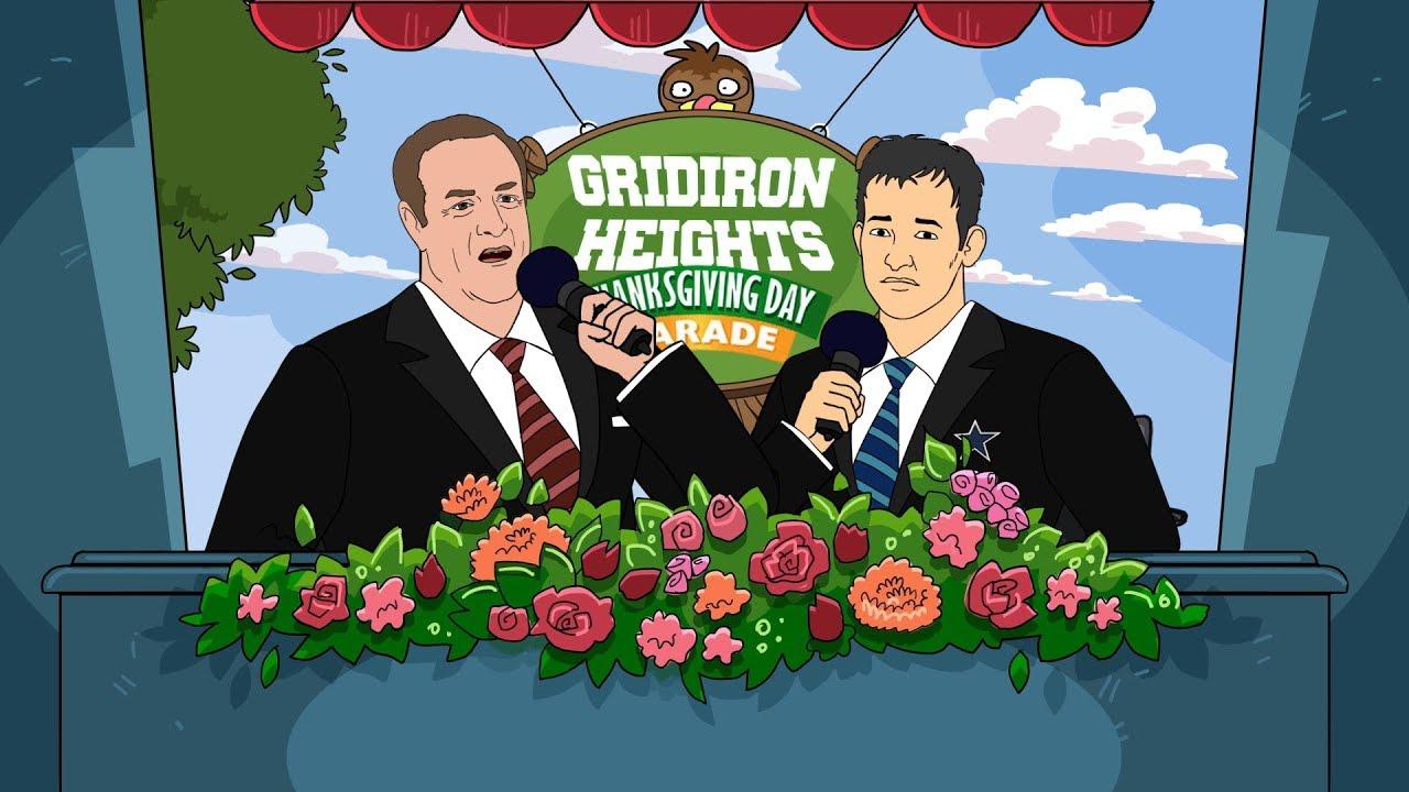 gridiron-heights-season-2-ep-12-tony-romo-calls-the-gridiron-heights-thanksgiving-day-parade