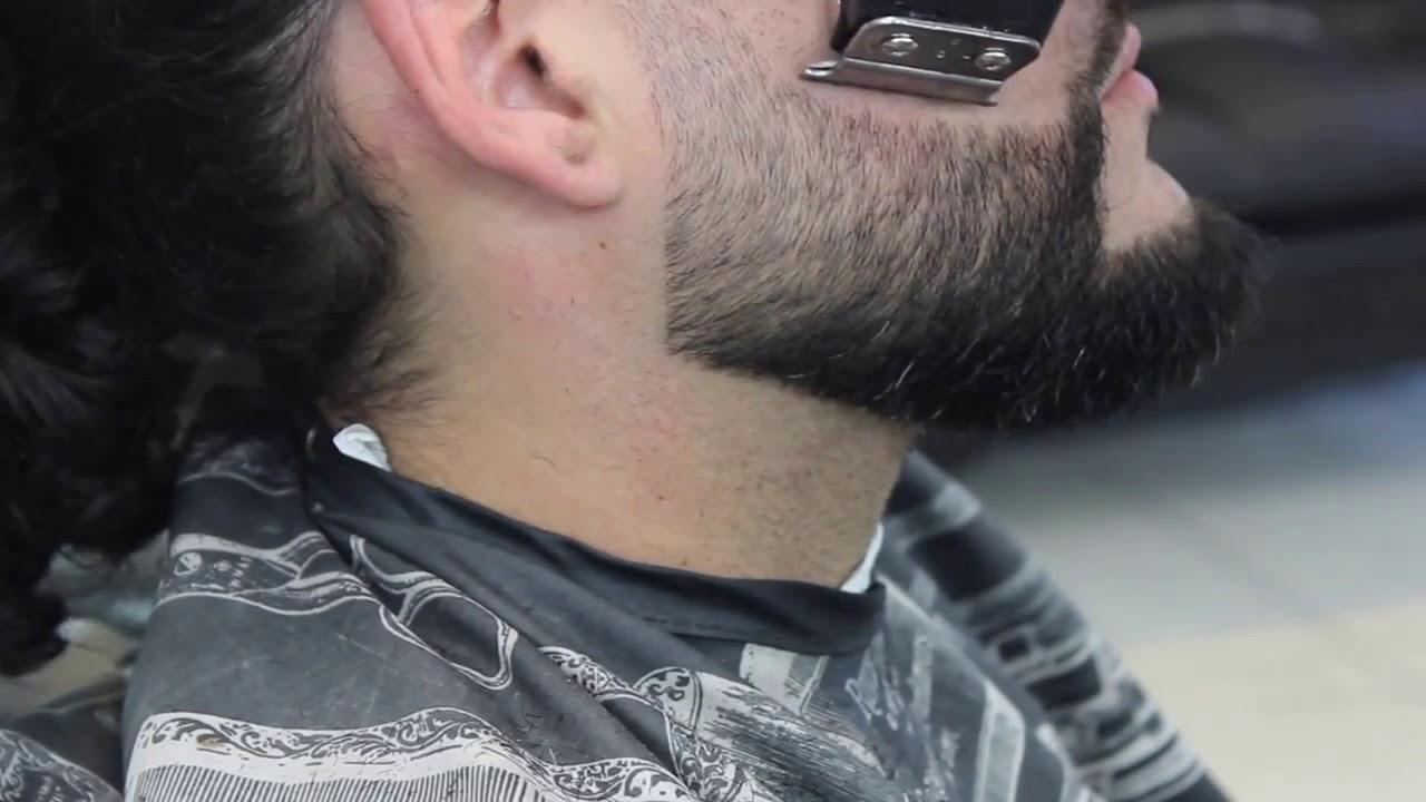 Stylish Arabic Beard Line Up Youtube