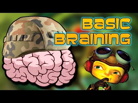 Basic Braining! - Psychonauts Playthrough Part 1