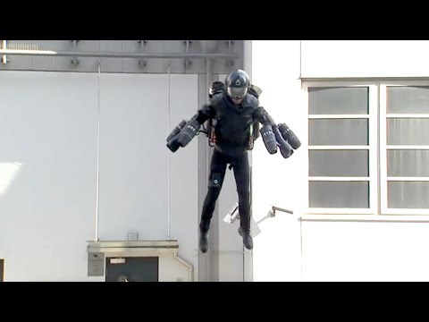 Jet suit of 'Iron Man' on sale in London