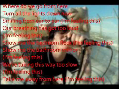 Blink 182 - Feeling This (Lyrics)