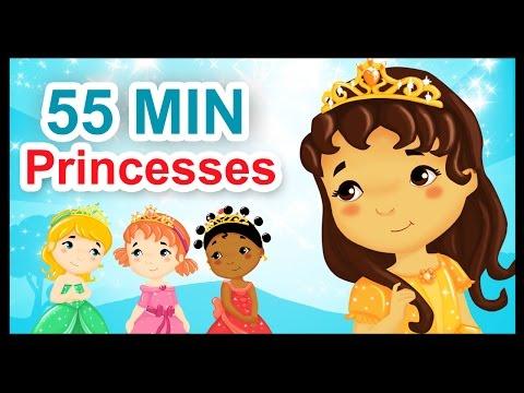 Les petites princesses - 55 min de comptines et chansons - Titounis