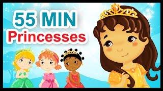 Repeat youtube video Les petites princesses - 55 min de comptines et chansons