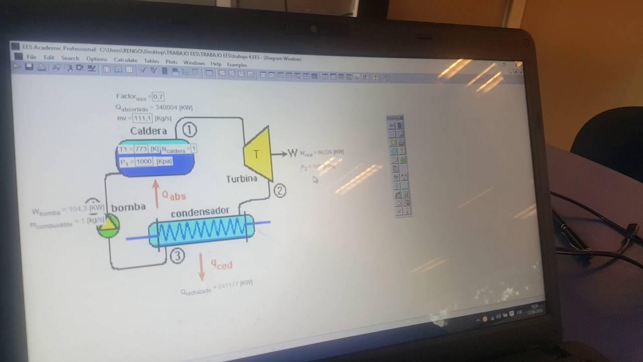 software ees termodinamica
