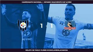 EN VIVO - Huachipato vs Colo Colo