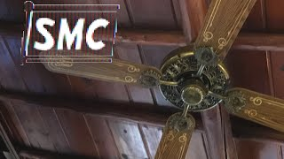 "52"" SMC A52 Ornate Ceiling Fans At Rustic!"