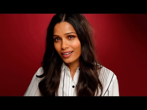 Starring in 'Guerrilla' was a real education for Freida Pinto
