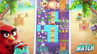 Angry Birds Match Android Walkthrough Gameplay and review with Commentary the birds are back.