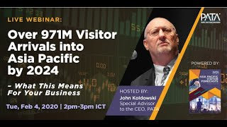 Webinar: Over 971 Million International Visitor Arrivals into Asia Pacific by 2024