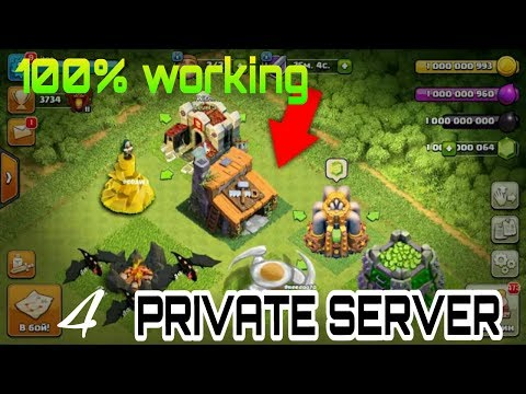 All NEW CLASH OF CLAN  Private Server 100% WORKING #4 C.O.C NEW