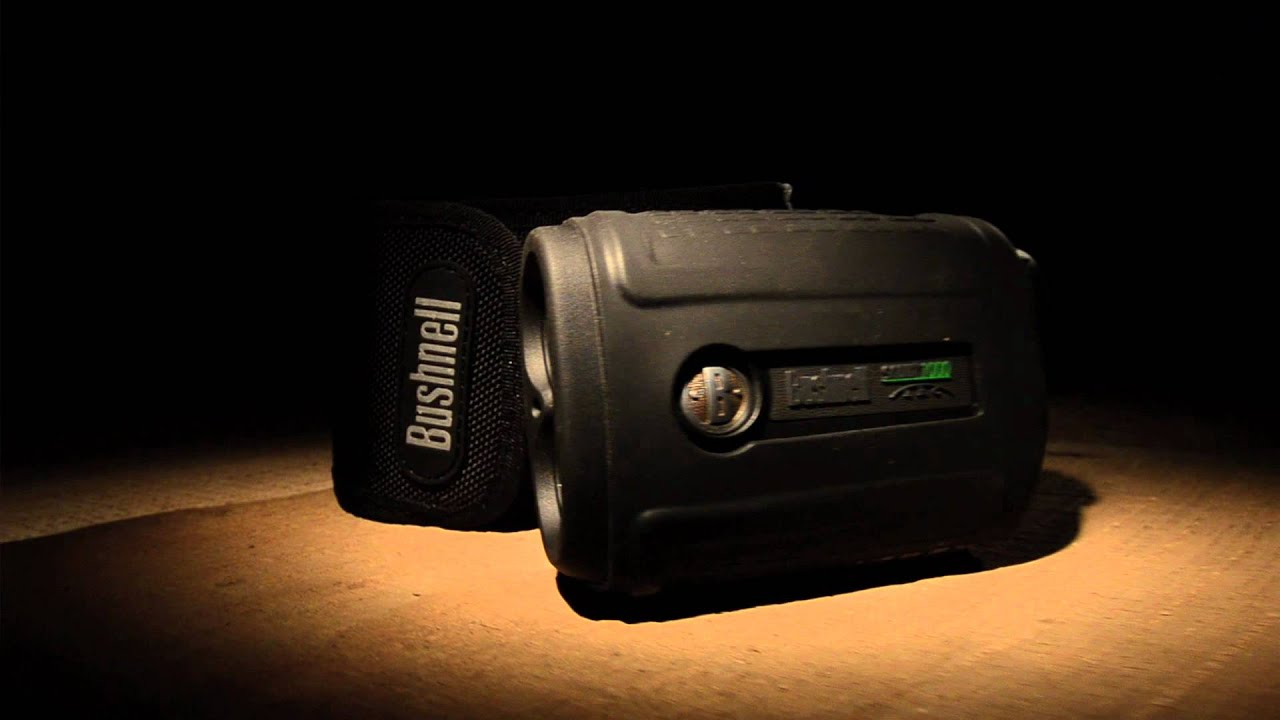 Bushnell scout 1000 arc rangefinder youtube