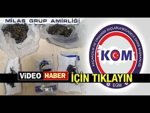 POLİS'TEN UYUŞTURUCUYA GEÇİT YOK...