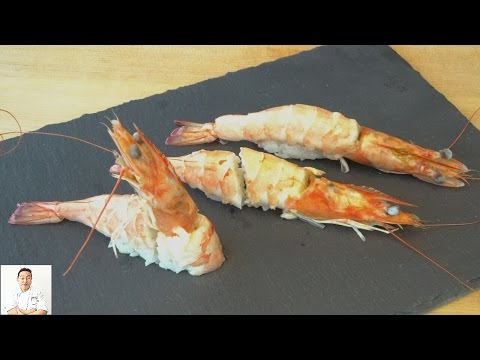 Head-On Shrimp Sushi - How To Make Sushi Series