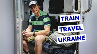 Ukraine Train Ride (1st Class) from Kiev to Lviv travel vlog
