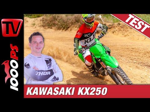 Kawasaki MX 2020 - Kawasaki KX 250 im Test!