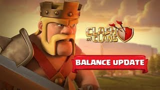 New HUGE Clash of Clans Winter Update! - NEW HERO LEVELS + BIGGER ARMIES + BALANCE CHANGES