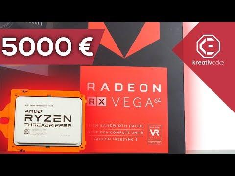 DAS 5000 EURO Threadripper FULL AMD GAMING PC Projekt | Meine eigene Höllenmaschine | TEIL 1