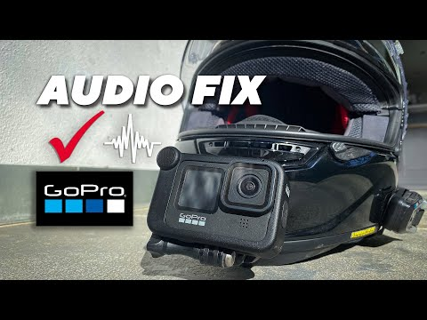 Gopro Audio - How to fix the Crackle & Pop