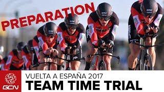 Team Time Trial Preparation With BMC Racing Team   Vuelta a España 2017