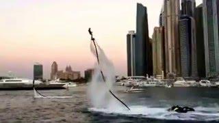 Amazing Flyboarding at SkyDive Dubai