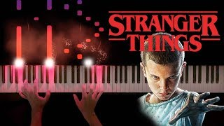 Stranger Things Theme (Piano Sheet Music)