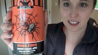 What I Ate Wednesday: Spider Cider!