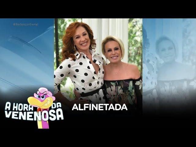 Claudia Raia cria climão no programa de Ana Maria Braga